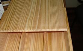 Chile pine edge glue panel